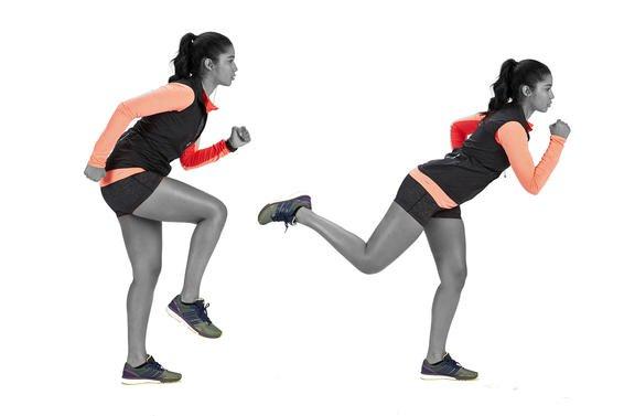 Jooksmine ja soojendus harjutused enne seda
